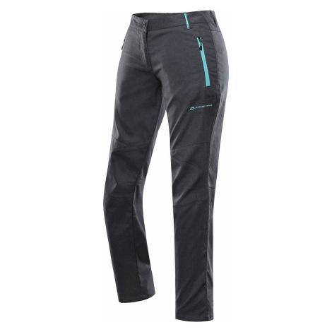 Dámské softshellové kalhoty Alpine Pro MURIA 4 - tmavě šedá
