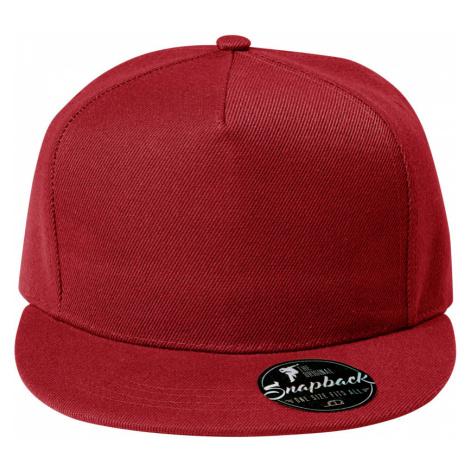 Malfini Rap 5P Čepice 30107 červená