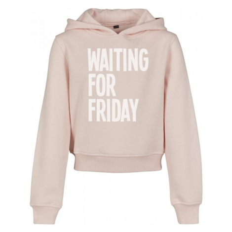 Kids Waiting For Friday Cropped Hoody Urban Classics