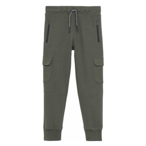 MANGO KIDS Kalhoty 'PETE1' khaki