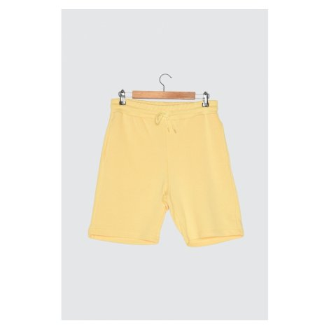 Trendyol Yellow Men's Regular Fit Shorts & Bermuda