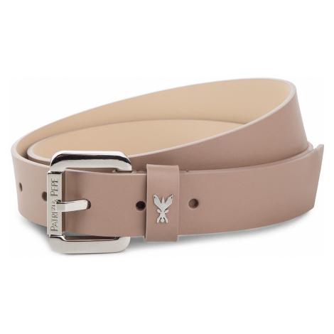 Růžový kožený pásek - PATRIZIA PEPE