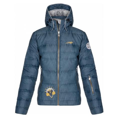 KILPI Dámská lyžařská bunda - větší velikosti MAILA-W LLX022KIBLU Modrá