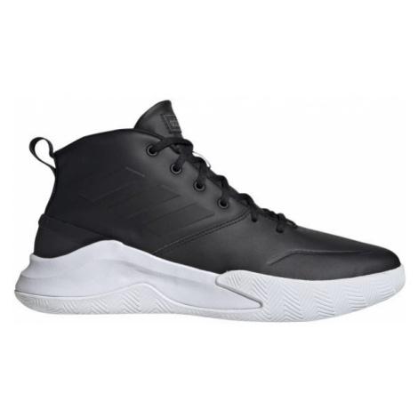 adidas OWNTHEGAME černá - Pánská basketbalová obuv