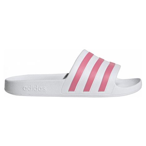 Pantofle adidas Adilette Aqua Bílá / Růžová