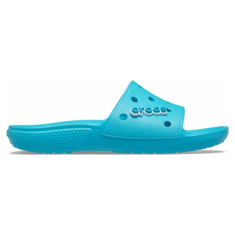 Dámské pantofle Crocs CLASSIC Slide modrá