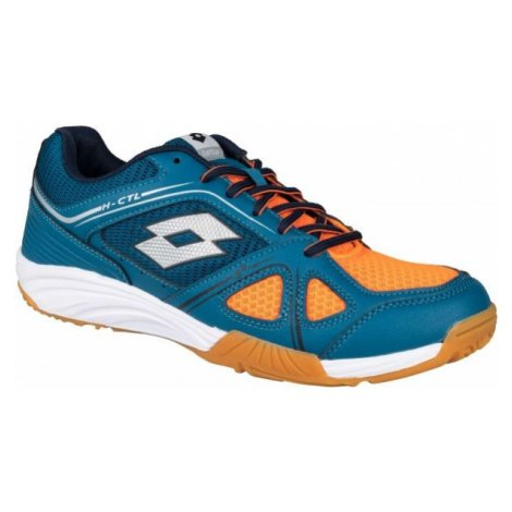 Lotto JUMPER 400 II modrá - Pánská sálová obuv