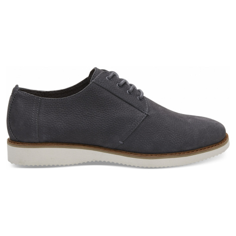 FORGED IRON GREY NUBUCK MN PRES DRLACE Toms