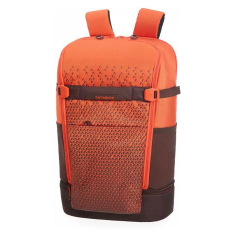 "Samsonite Batoh na notebook Hexa-Packs BP L Travel 22 l 15.6"" - červená"