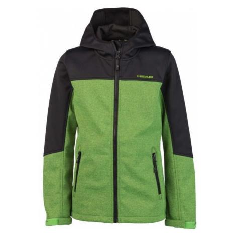 Head ZEUS černá - Chlapecká softshellová bunda