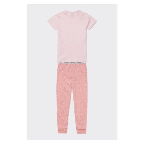 PRO DĚTI! Calvin Klein pyžamo Girls-světle  růžové