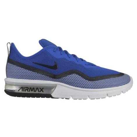 Nike AIR MAX SEQUENT 4.5 SE modrá - Pánské volnočasové boty