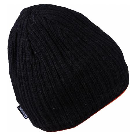 Pánská čepice Sherpa GILLES - černo-červená
