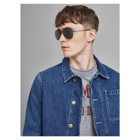 Ryder Sluneční brýle Jack & Jones Černá