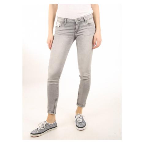 Pepe Jeans dámské šedé kalhoty Cher