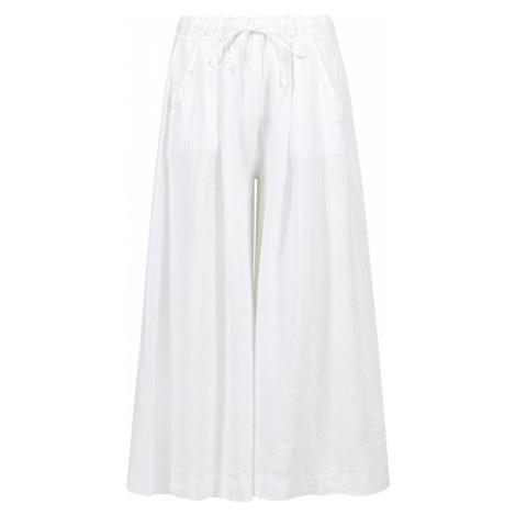 Kalhoty Deha HYPE bílá