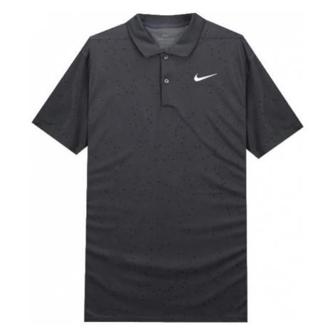 Polo tričko Nike Dri-Fit Victory Tmavě šedá