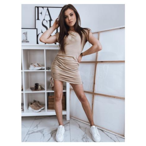 MIMOSA beige dress Dstreet EY1666