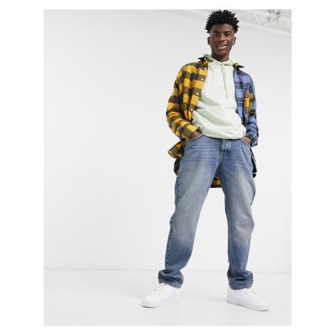 ASOS DESIGN original fit jeans in vintage dark wash blue