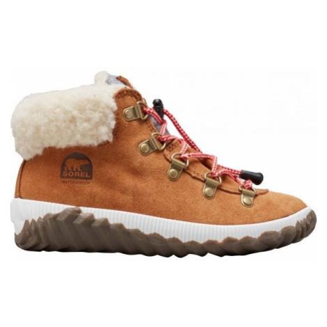 Sorel YOUTH OUT N ABOUT CONQUE hnědá - Dětská zimní obuv