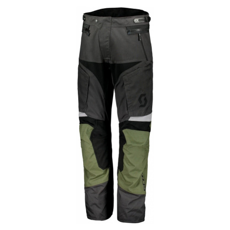 Moto Kalhoty Scott Dualraid Dp Grey/Olive-Green