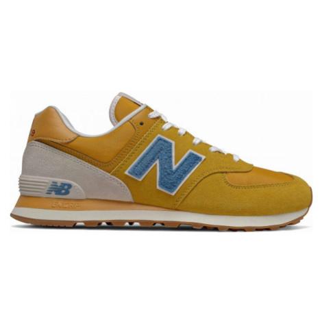 New Balance ML574SCB oranžová - Pánská volnočasová obuv