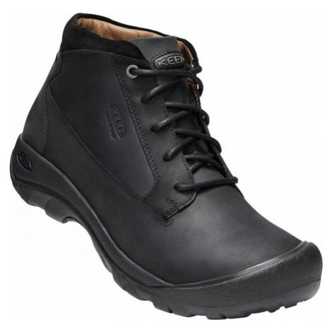 Pánské boty Keen Austin Casual Boot WP M black/raven