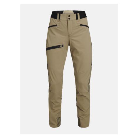 Kalhoty Peak Performance W Light Softshell V Pants - Hnědá