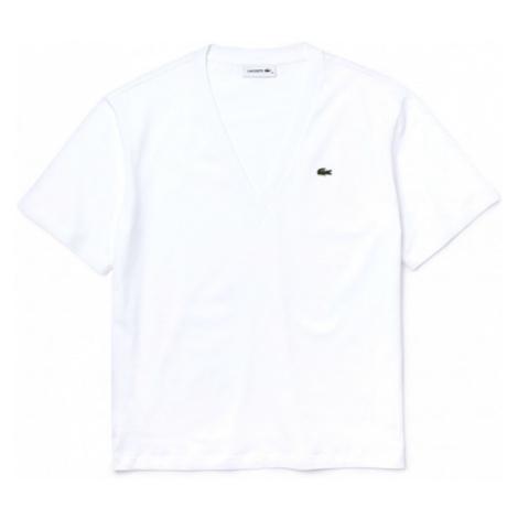 Lacoste WOMENS TEE SHIRT bílá - Dámské tričko
