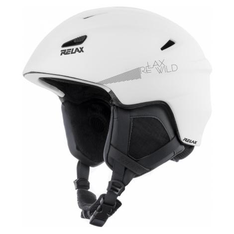 Lyžařská helma RELAX WILD - bílá