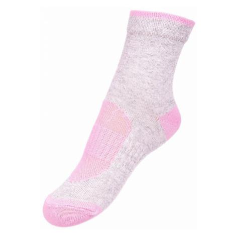 ALPINE PRO RAPID 2 Dětské ponožky KSCN014807 begonie