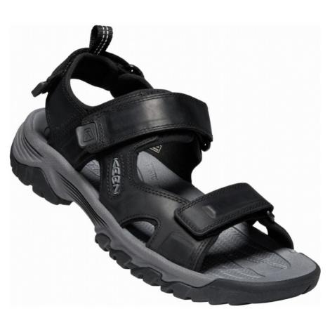 KEEN TARGHEE III OPEN TOE SANDAL M Pánské sandály 10012400KEN01 black/grey