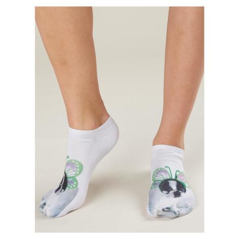 Dámské ponožky se psím potiskem FPrice