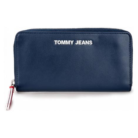 Tommy Hilfiger Tommy Jeans dámská tmavě modrá peněženka LARGE ZIP AROUND WALLET