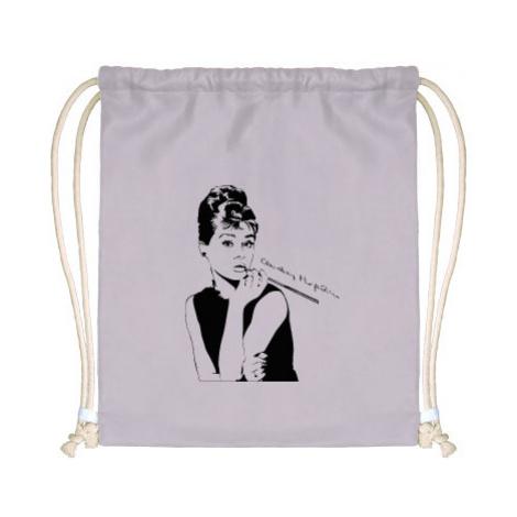 Celopotištěný vak na záda Audrey Hepburn