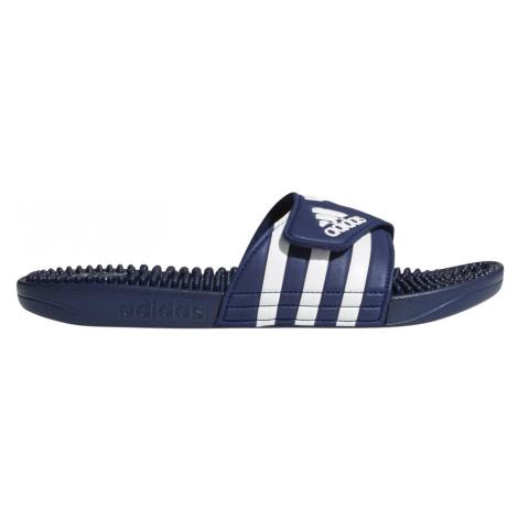 Pantofle adidas Adissage Modrá / Bílá