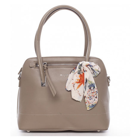Elegantní trendy khaki kabelka do ruky - David Jones Felicity