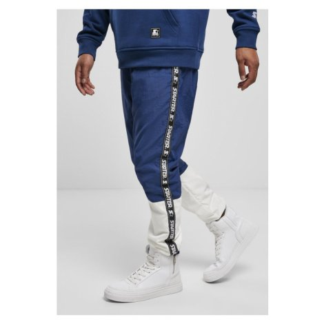 Starter Two Toned Jogging Pants - blue night/white Urban Classics