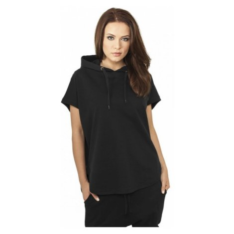 Urban Classics Ladies Sleeveless Terry Hoody black