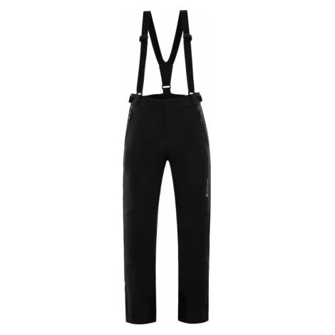ALPINE PRO NEX 2 Pánské lyžařské kalhoty MPAM213990 černá