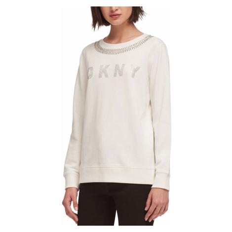 Bílá mikina - DKNY