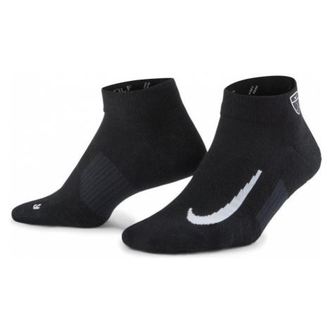 Ponožky Nike MULTIPLIER LOW 2 pack Černá / Bílá