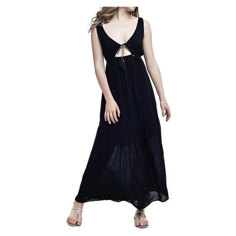 Guess dámské černé maxi šaty