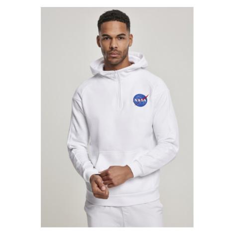 Mr. Tee NASA Chest EMB Hoodie white