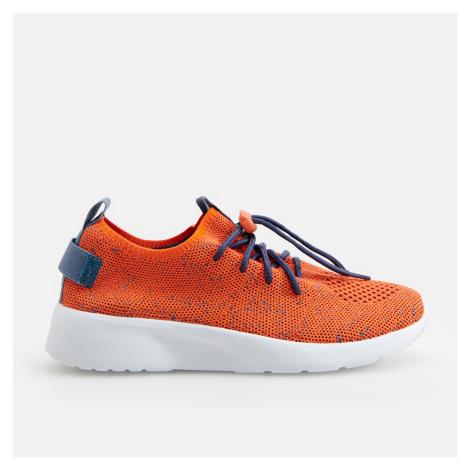 Reserved - Tenisky sneakers na tlusté podrážce - Červená