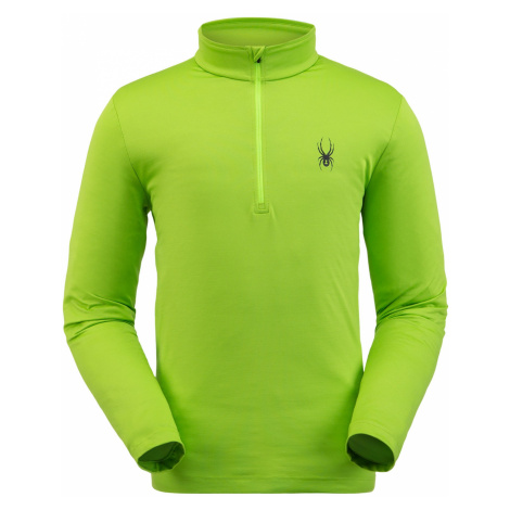 ikina Spyder Protect Zip T-Neck - zelená