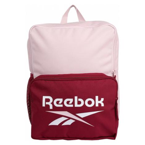 Reebok Sport Sportovní batoh bílá / merlot / růžová