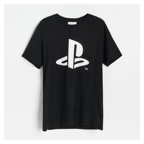 Reserved - Tričko s potiskem PlayStation - Černý