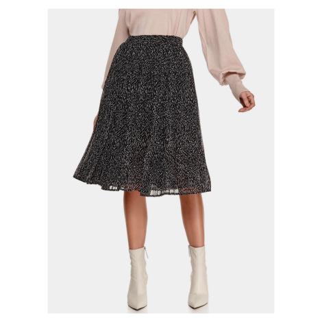 TOP SECRET černé vzorovaná sukně
