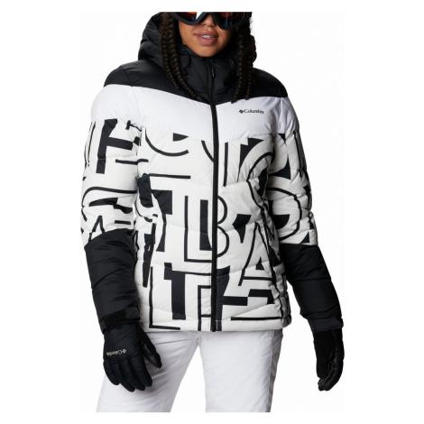 Bunda Columbia Abbott Peak™ Insulated Jacket W - černá/bílá